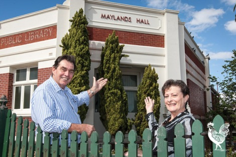 • Jim and Carole Chantry have ideas for the vacant Maylands Hall.