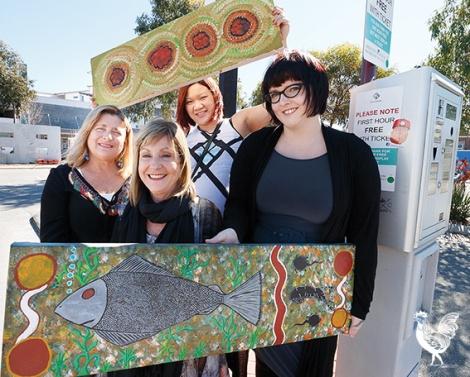•Michelle Xa Rechichi, Pam Herron, Bonnie Boogaard and Lesley Thomas. PhotobyMatthewDwyer