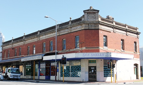• Bob Mainstone has worked out of home for two years since a Barnett government authority ended his lease on this still-empty building.