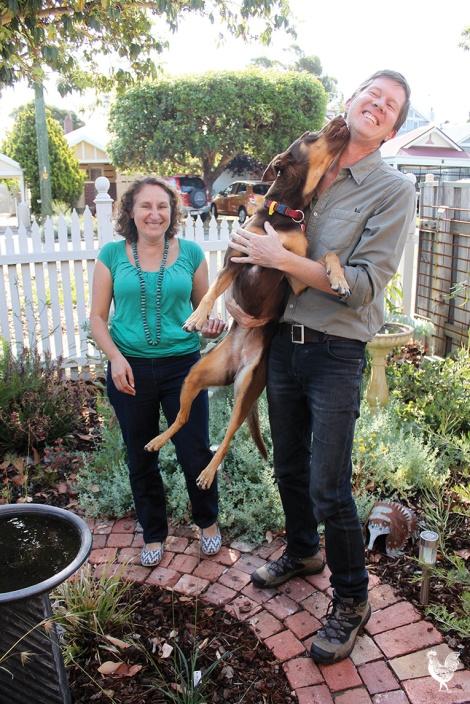 • Lisa Mazzella, Geoff Weekes and kissy Kelly. PhotobyDavidBell