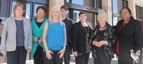 • Maylands MP Lisa Baker with representatives from the Polish Ethnic School. Photo supplied