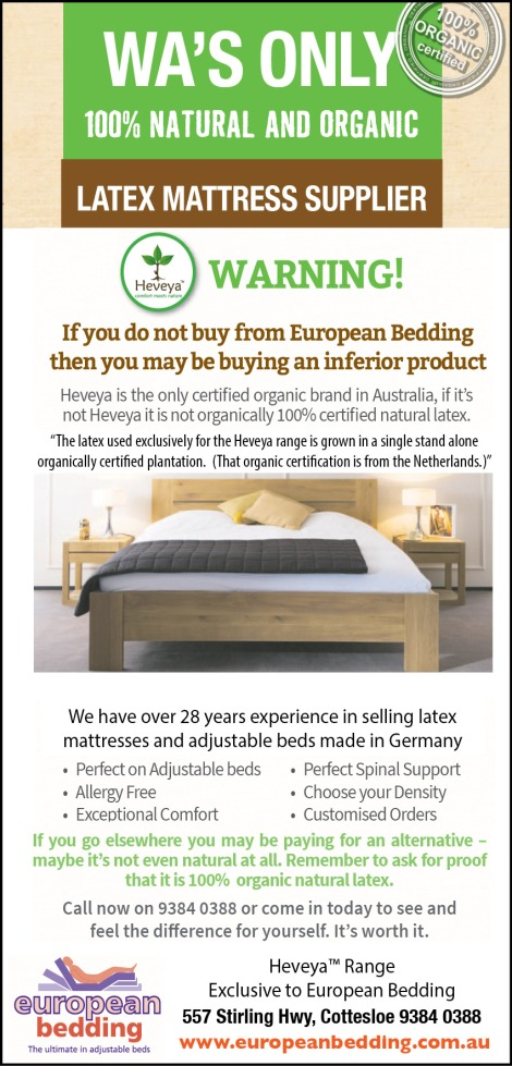 866 European Bedding 15x2