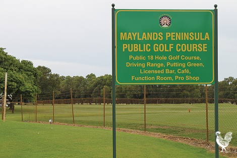 • Maylands golf course—that funny smell isn't the caddy. PhotobyStephenPollock