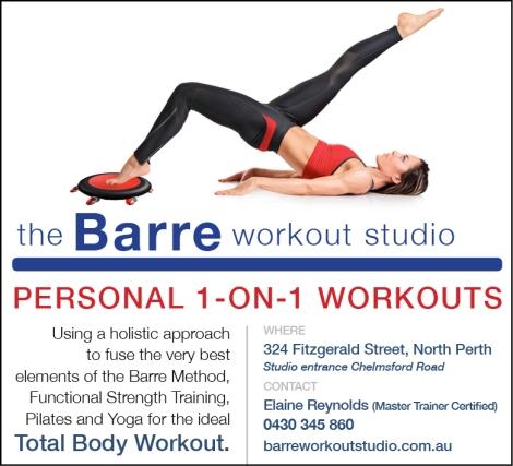 870 Barre Workout Studio 10x3