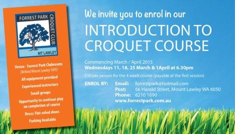 870 Forrest Park Croquet 15x7