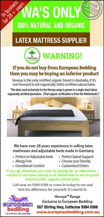 878 European Bedding 15x2
