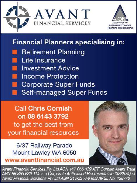 Avant Financial Services 10x2