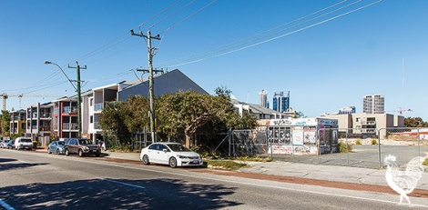 • Site of the proposed fire station on Carr Street. Photo by Matthew Dwyer