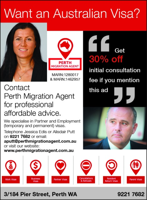 896 Perth Migration Agent 15x3