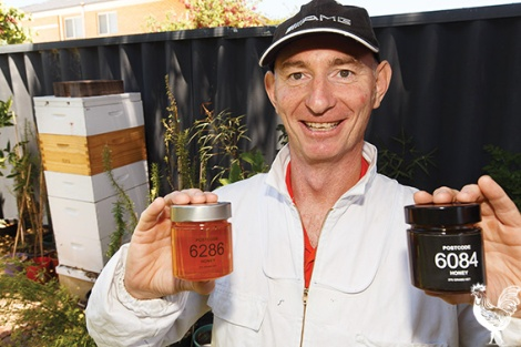 • North Perth man John Faherty quit his job in oil and gas in July to work on his buzzing backyard business. Photo by Matthew Dwyer