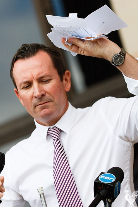 • WA Labor leader Mark McGowan