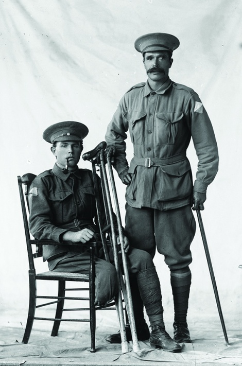 • Two of the hundred or so unknown soldiers in the Museum of Perth collection. Photosupplied |StateLibraryofWA,108525PD