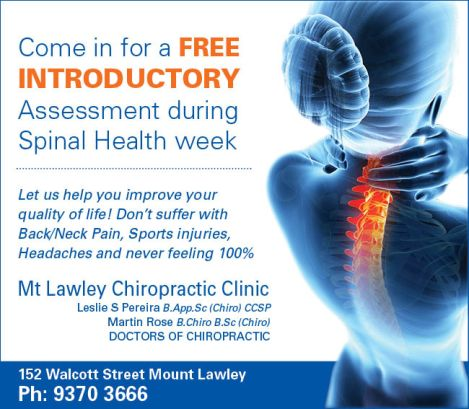 934 Mt Lawley Chiro Clinic 10x3