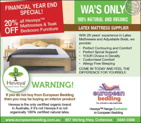 937 European Bedding 10x3