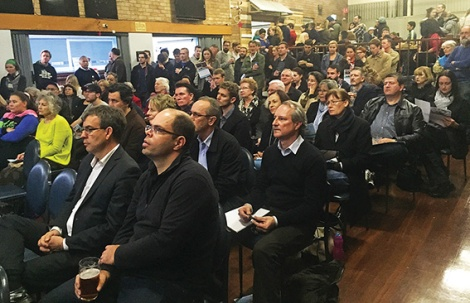 • More than 150 people turned out for the launch of a talk series that brings in experts to give locals ideas about shaping the future of Bayswater town centre.