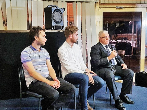 • Julian Bolleter, John Del Dosso and Stuart Doran were the guest speakers to launch Future Bayswater's free speakers series.