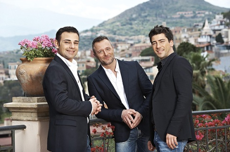 • The Italian Tenors; sexy, talented and a lot of fun.