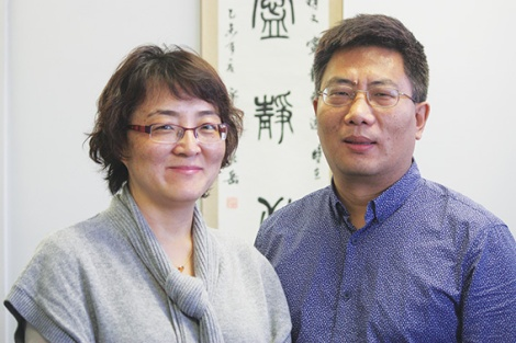 Dr Sophie Shen and Dr Robert Zhao