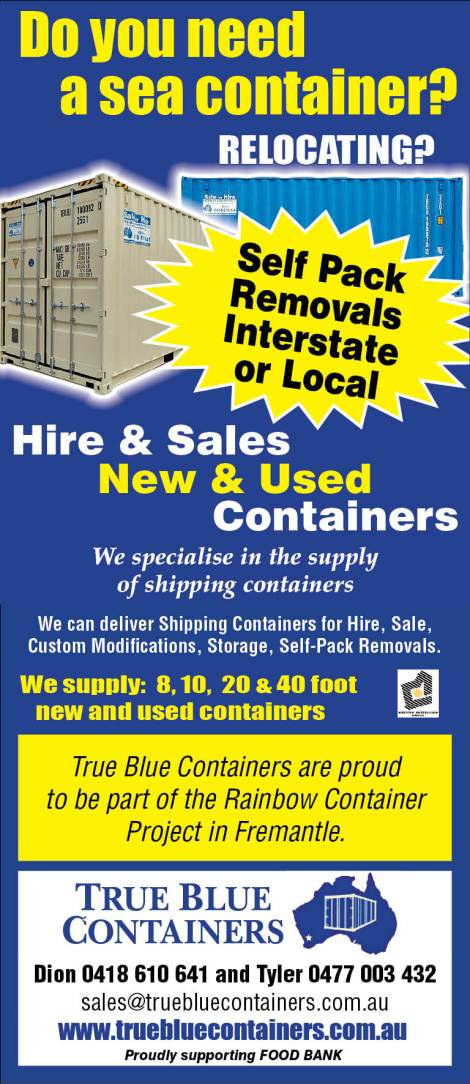 946 True Blue Containers 30x3.5