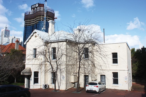 • Edith Cowan lived in this house on 31 Malcolm Street, West Perth between 1893 and 1919.
