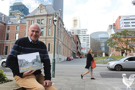 • Richard Offen on St Georges Terrace, where a lot has changed since Alfred Stone captured the area in the 1860s.