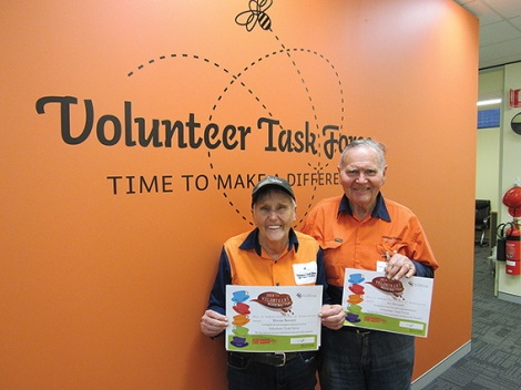 • Wanda and Jim Bennett love volunteering.