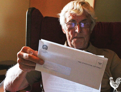 •Tony Green received an angry anonymous letter from someone unhappy with his scrutiny of Bayswater council. PhotobyTrilokeshChanmugan