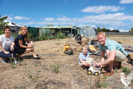 • Turning disused areas into parks is one way we could get more public open space, councillors Emma Cole, Dan Loden and Susan Gontaszewski reckon. PhotobyTrilokeshChanmugam
