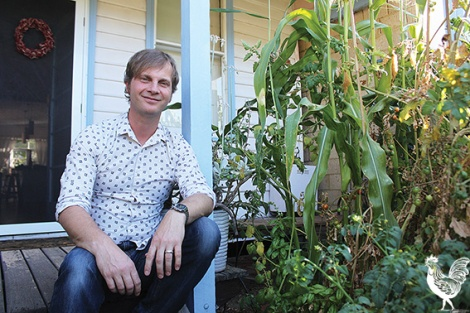• Matt Buckels at his Leederville home. Photos on the hustings by David Bell