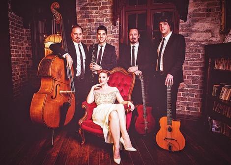 • Sassafras channels Django in their gypsy jazz.