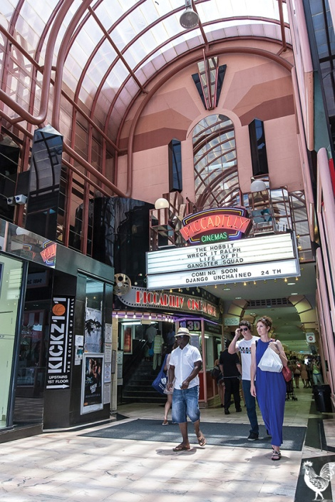 • Reviving the old Piccadilly Theatre could help enliven the Hay Street Mall at night, says Brad Mellen. He's seeking Perth council sponsorship to make it happen. File photo
